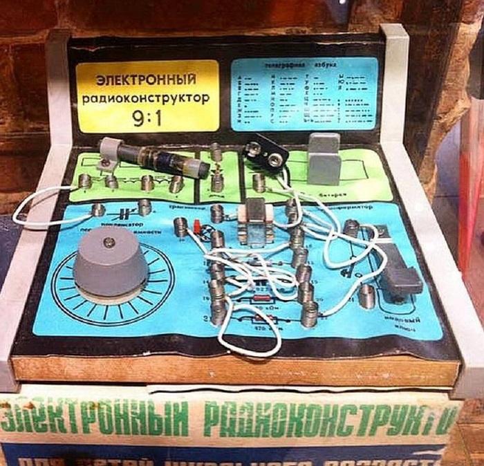 Электронный радиоконструктор «9:1», который выпускался с 1985 года Пензенским радиозаводом.