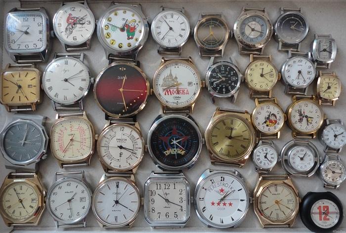 Разновидности наручных часов.