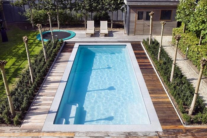 Потрясающий бассейн, который станет идеальным местом для сказочного отдыха.