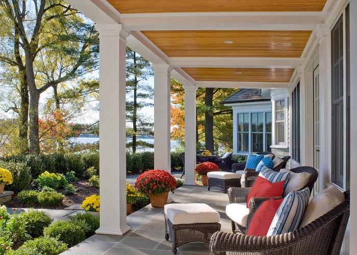 Открытая летняя площадка, которая станет излюбленным местом для отдыха не только хозяев, но и гостей.