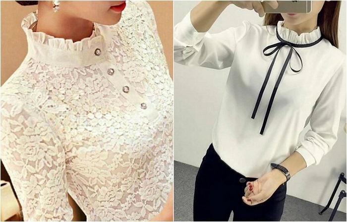 Потрясающие модели женских блузок.