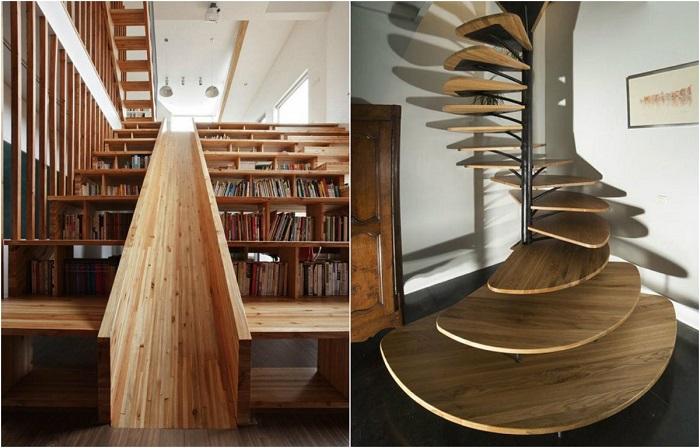 Лестницы, которые станут великолепным дополнением к современному интерьеру.