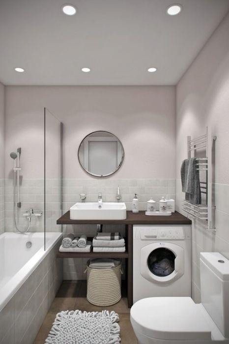 Любая ванная комната небольших размеров нуждается в определенном стилистическом решении.