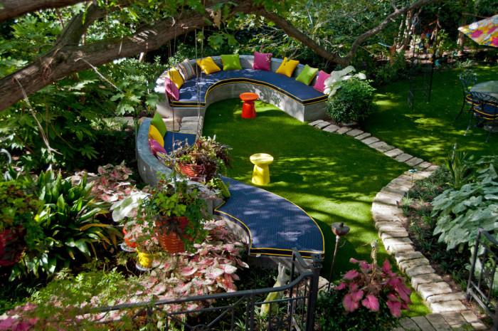 Идеи для дворика и сада своими руками