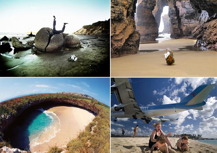 Самые необычные пляжи Земли.