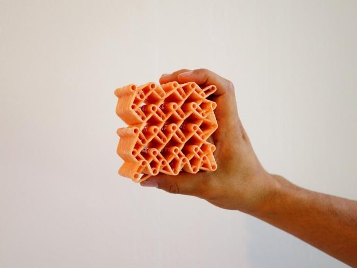 Структура 3D-ткани.
