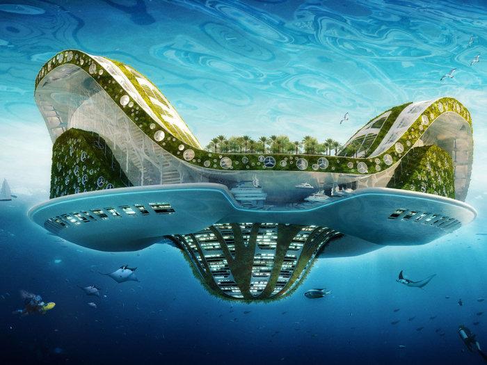 Поразительная экосистема, которая на данном этапе является только лишь концептом.