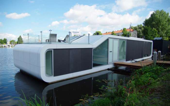 Многофункциональный дом в стиле минимализм.