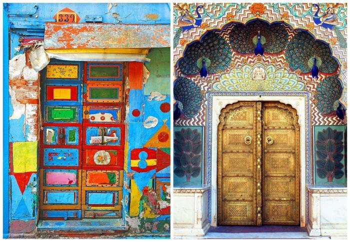 Двери, ведущие в другие миры.