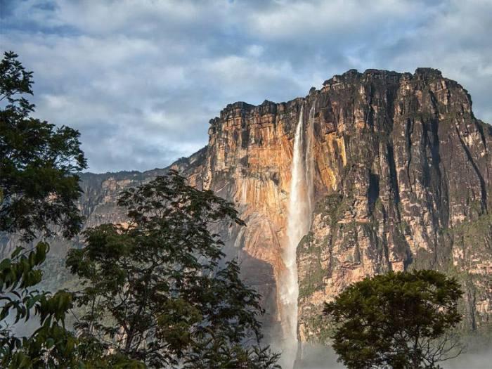 Самый высокий в мире водопад.