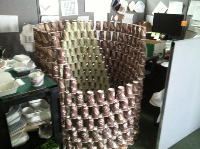 Рабочее место истинного кофемана.