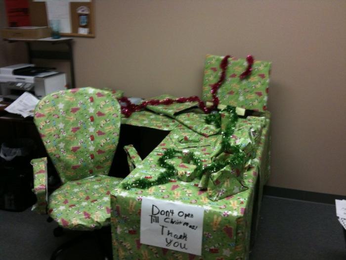 Подарки до Рождества не открывать!