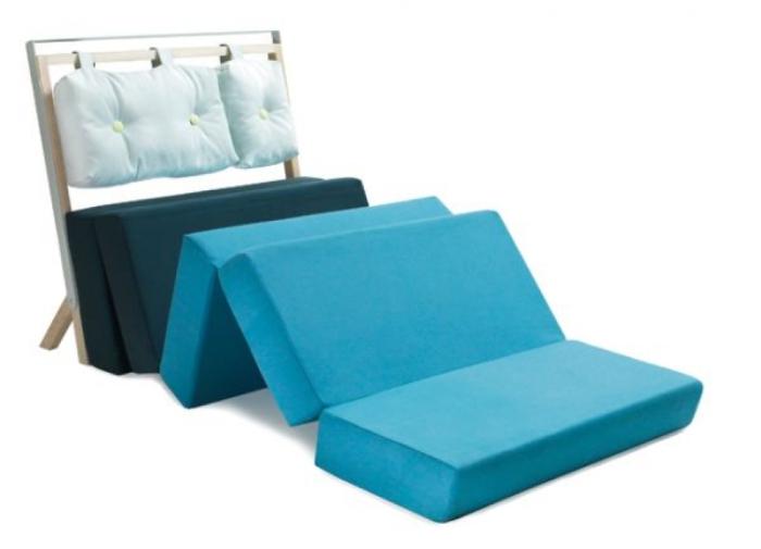 Оригинальный вариант раскладного дивана.