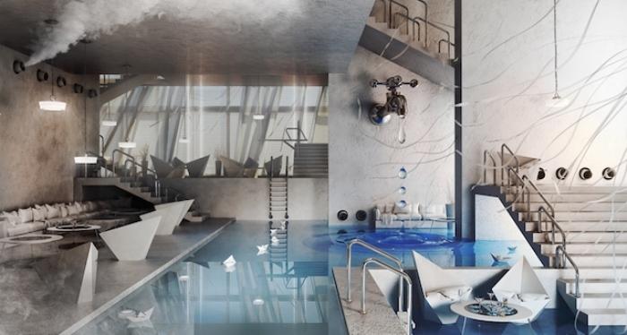 Ванная комната от компании Wamhouse.
