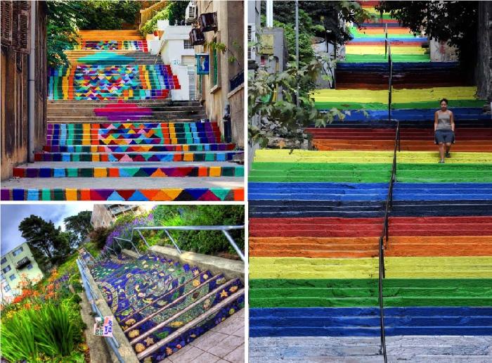 Оригинальные лестницы со всего мира.