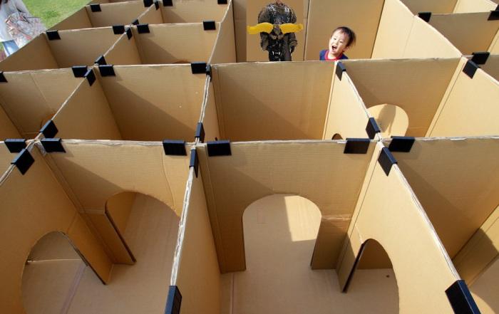 Как сделать машинку из коробки своими руками игрушку