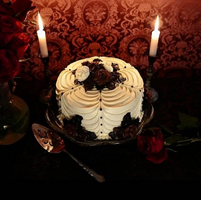 Готический торт.