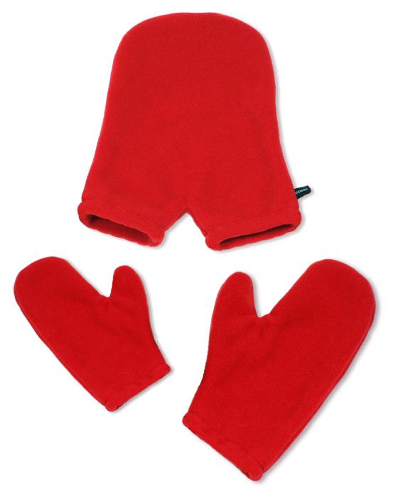 Одна рукавиця на двох.