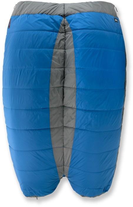 Спальный мешок для пары влюбленных.