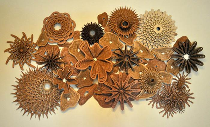 Восхитительные деревянные коралловые рифы.