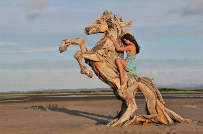 Скульптура, которая не может не вызывать восхищение.