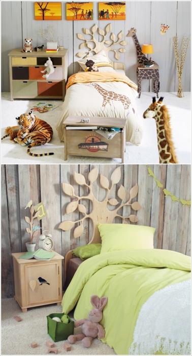 Дизайн кровати от самой природы.