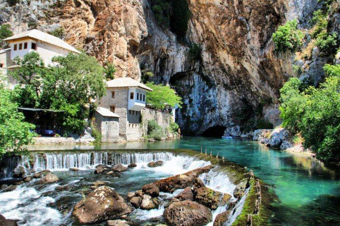 Красивейшее место в Боснии и Герцеговине.