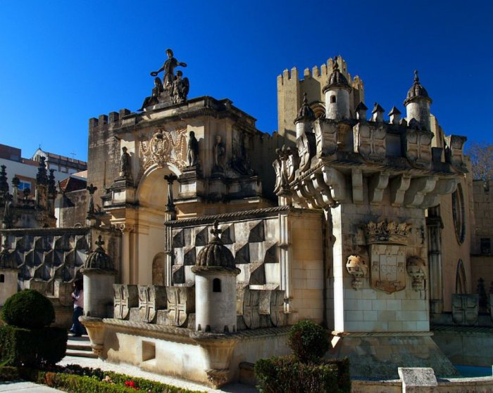 Тематический парк миниатюр в Португалии.