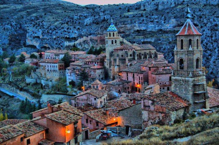 Замечательный маленький городок на севере Испании.