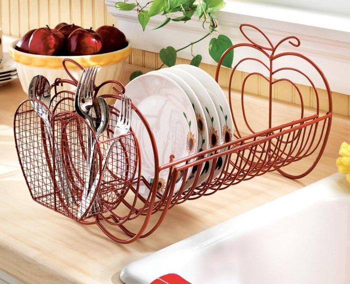 Великолепная сушилка, которая украсить любую кухню.