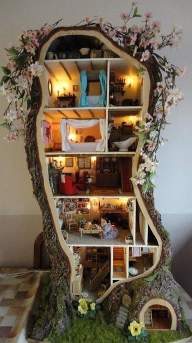 Невероятный домик в дереве.