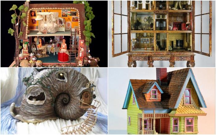 Уникальные кукольные домики.