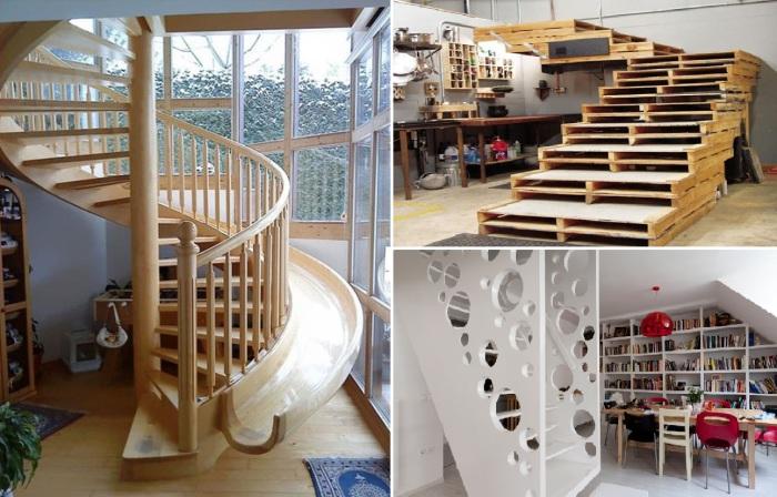 14 великолепных идей дизайна лестниц.