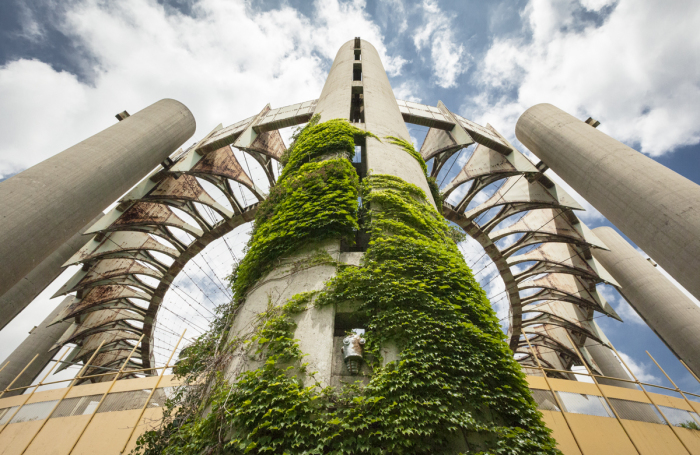 Великолепное заброшенное «Здание будущего» в Нью-Йорке.