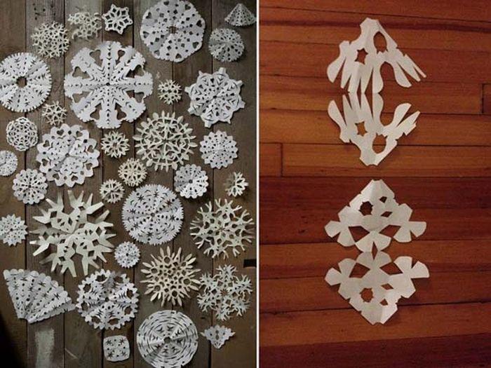 Больше практики и снежинки будут получаться такими, как на первой фотографии.