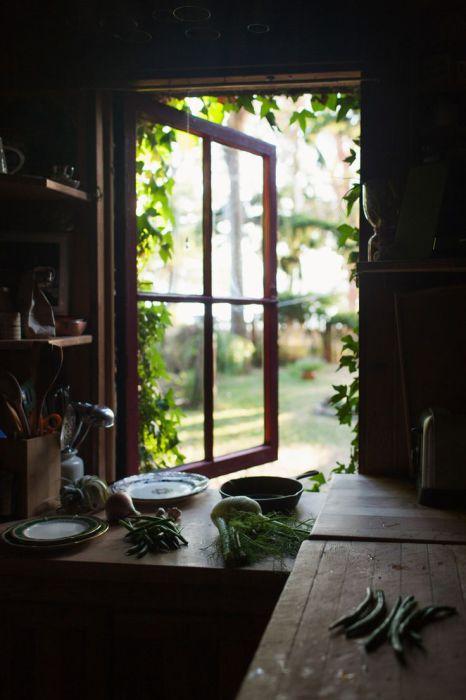 Весенний свежий ветерок, проникающий в комнаты сквозь раскрытые окна.