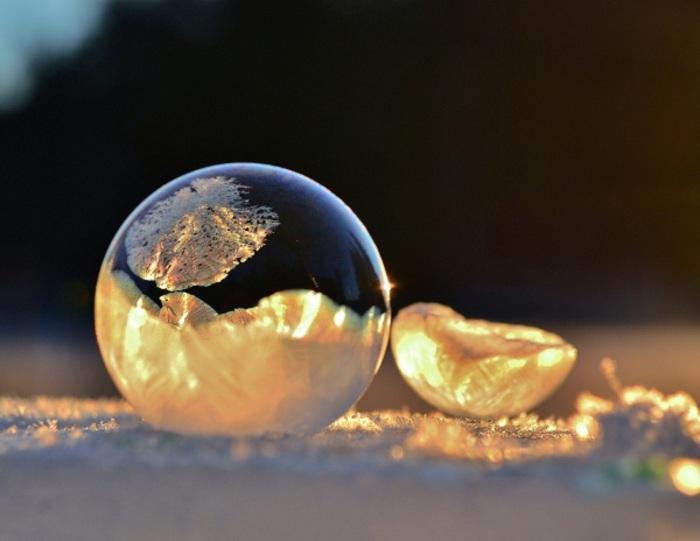 Пузырь из льда.