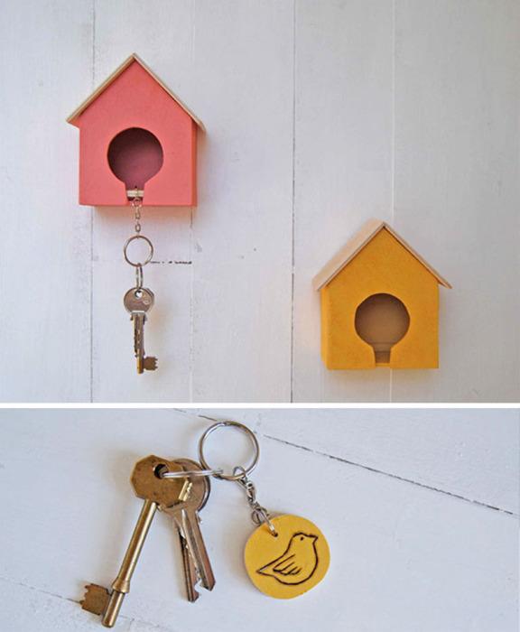 Прекрасный вариант хранения ключей.