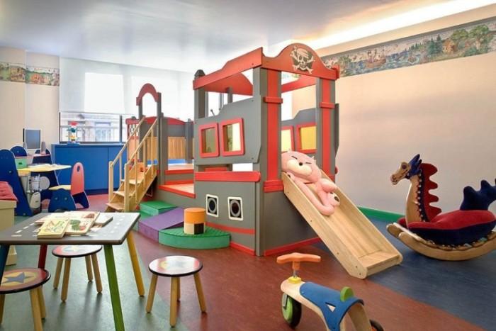 Пиратский домик для активных детей.
