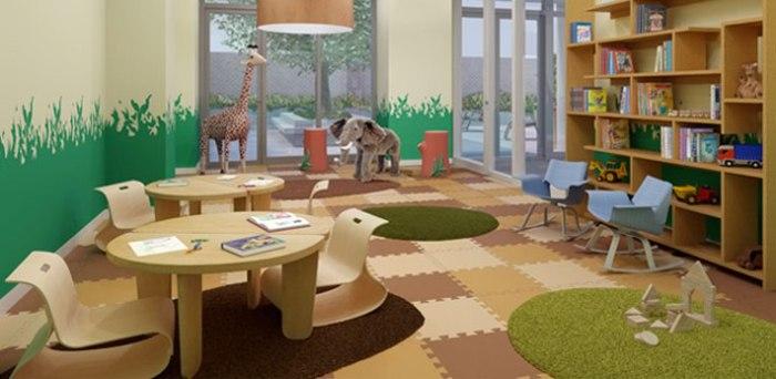 Настоящий зоопарк в детской комнате.