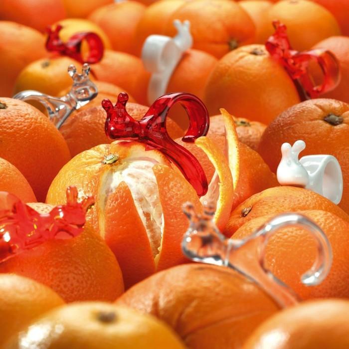 Ножи для быстрой и легкой чистки апельсинов.