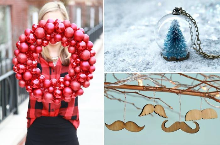 Способы создания новогодних украшений для тех, кто еще не успел подготовить свой дом к празднику.