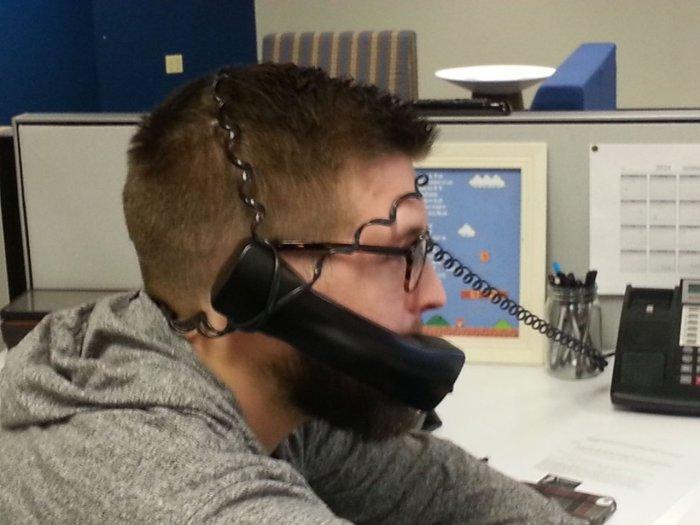 Как упростить процесс разговора по стационарному телефону.