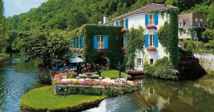 Отель, расположенный в провинции Дордонь.