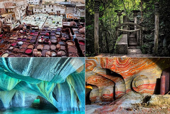 15 таинственных туристических мест.