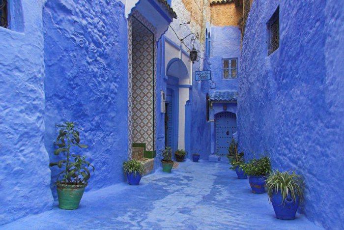 Голубой город близ Танжера.