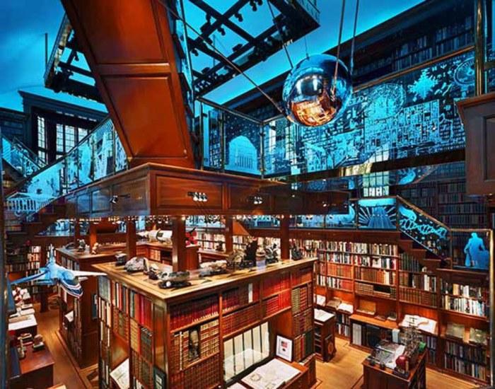 Архитектура этой библиотеки - произведение искусства.