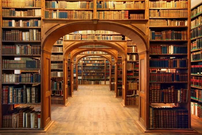 Одна из крупнейших библиотек мира.