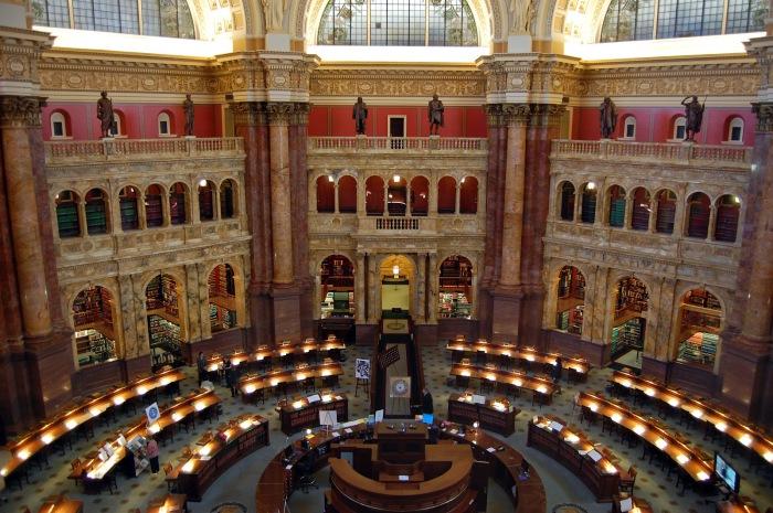Библиотека - самое старинное федеральное культурное учреждение страны.