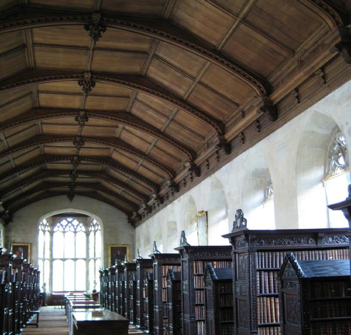 Величавая библиотека.